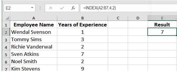 How to Use INDEX MATCH Function | Excelchat