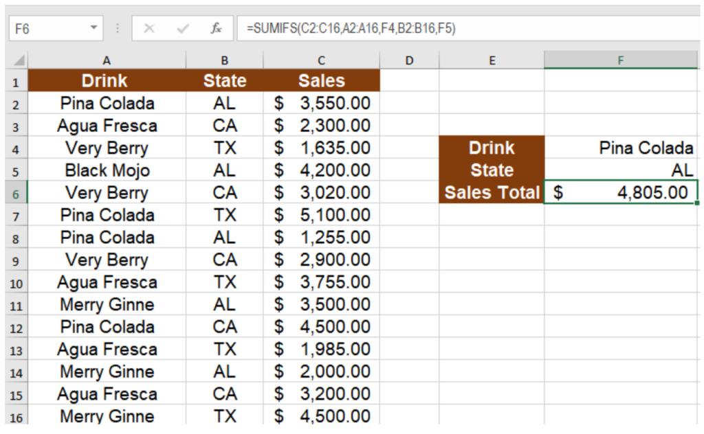 How to Use SUMIFS in Excel (With Examples) | Excelchat