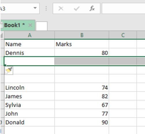 Excel Shortcut: Redo last action with shorcut keys in Window