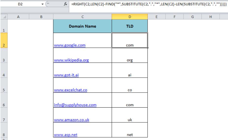 Le Domain Extension