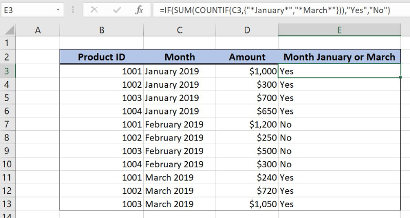 excel count if cell contains letter