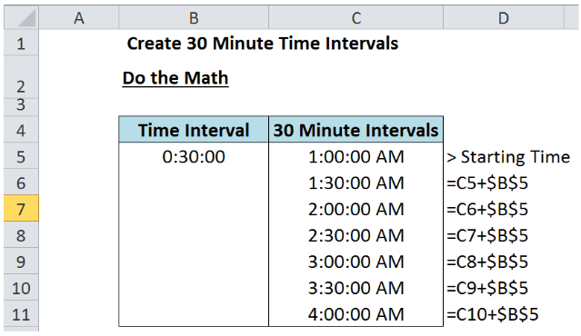Learn How to Determine Time Intervals in Excel   Excelchat