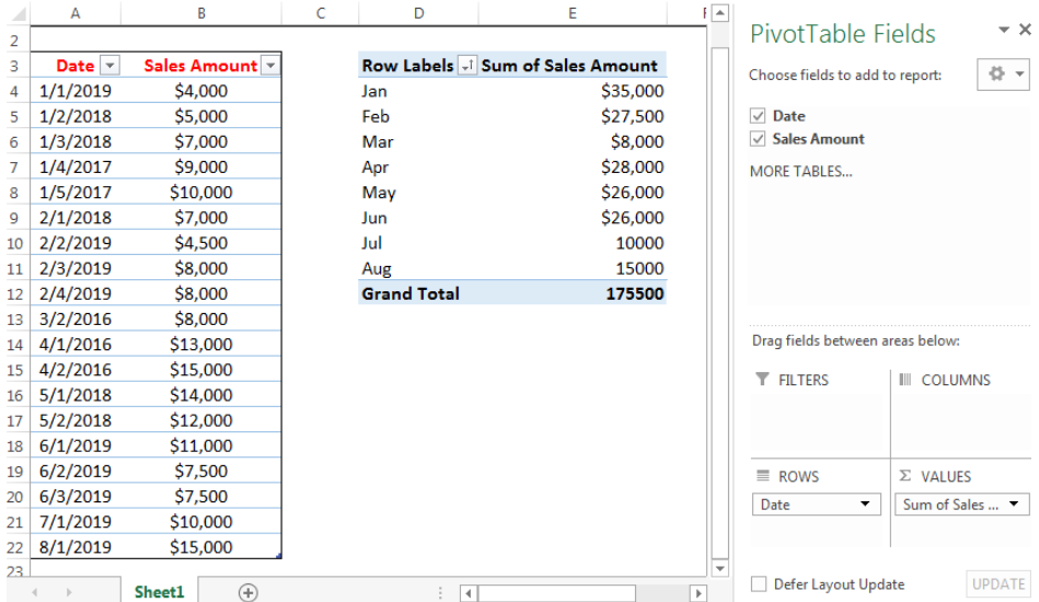 Learn How To Create A Dynamic Pivot Table In Excel Excelchat