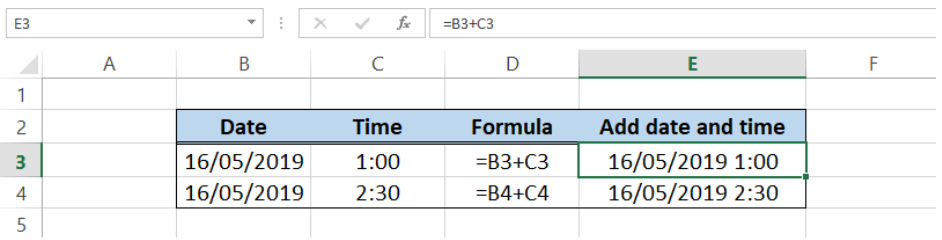 How to add date and time in Excel - Excelchat | Excelchat