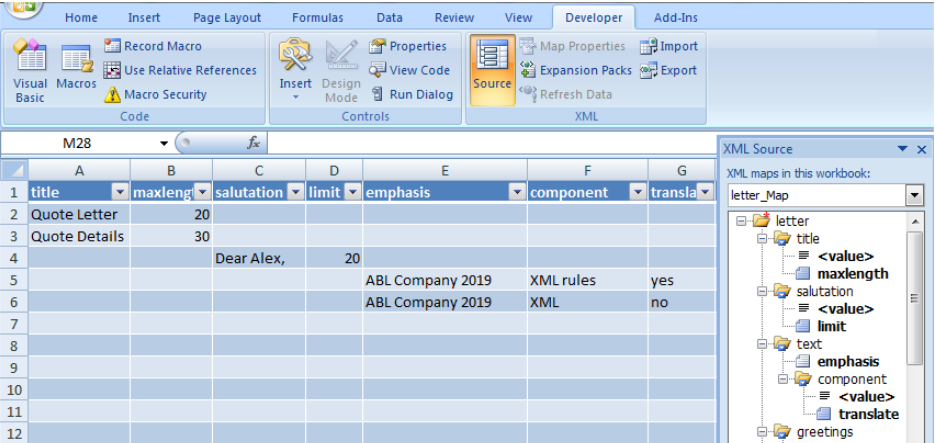 XML in Excel - Excelchat | Excelchat
