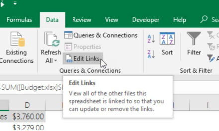 How to find links in Excel - Excelchat | Excelchat